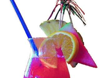 "Sommer-Cocktail ""Sex On The Beach""."