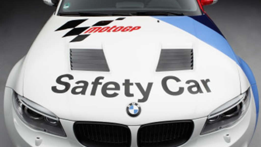 BMW 1er M Coupé - Safety Car