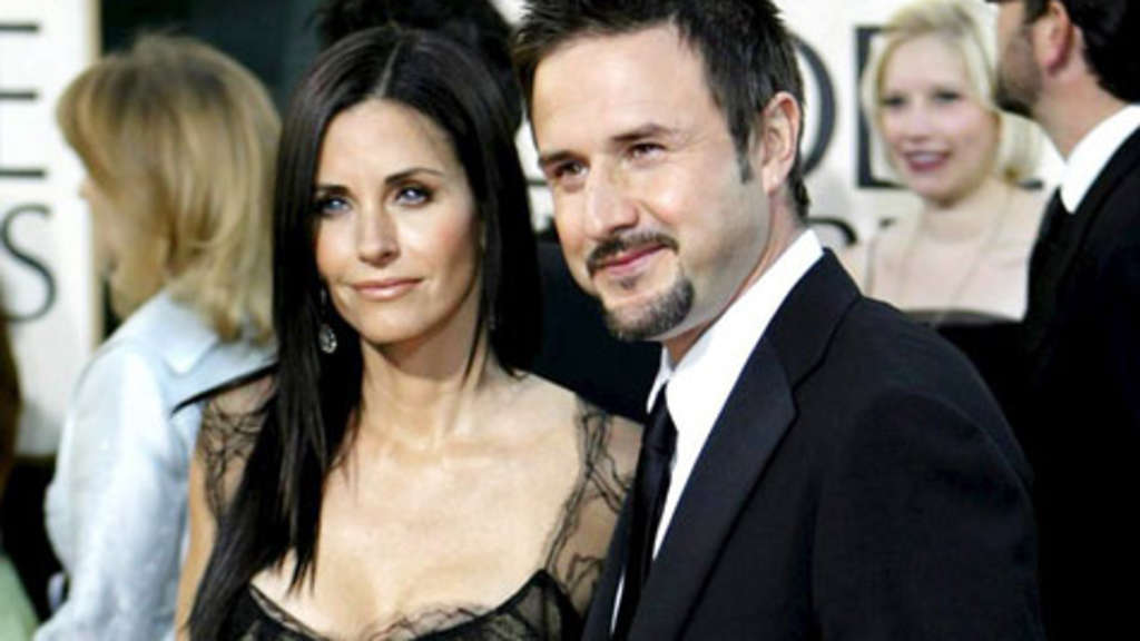 David Arquette Courteney Cox