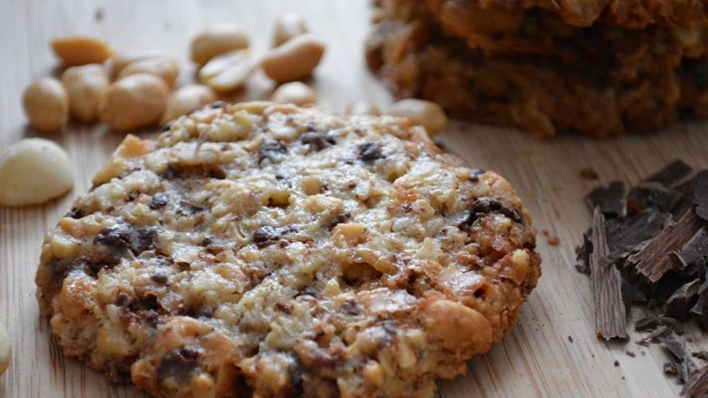 der kuchenb cker rezept f r haferflocken kekse mit schokolade und nuss hessen. Black Bedroom Furniture Sets. Home Design Ideas