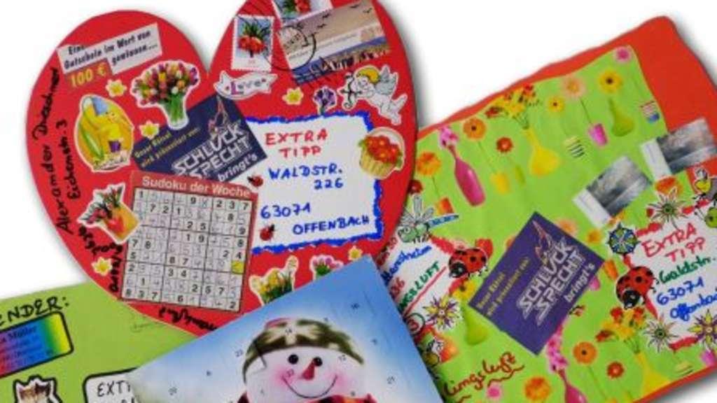 Gewinnspiele Mit Postkarten Teilnahme