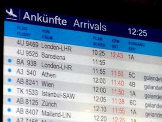 Germanwings-Maschine, Absturz, Arrivals, Düsseldorf