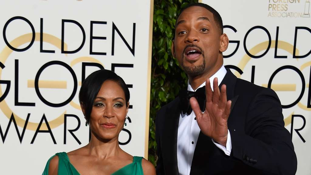 Jada Pinkett Smith und Will Smith.