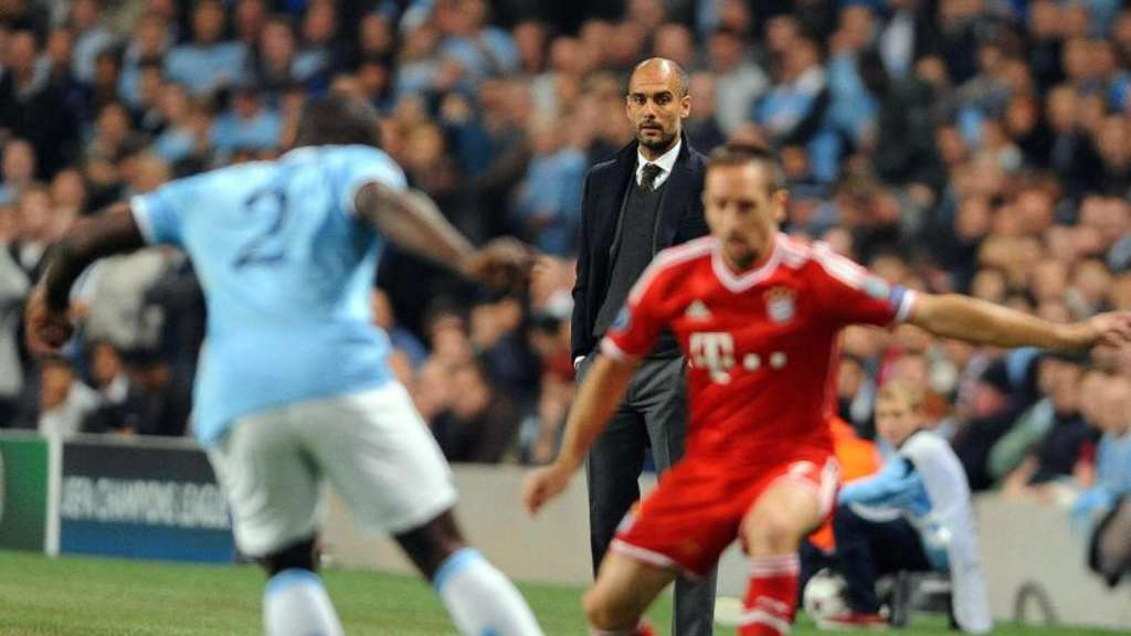 Pep Guardiola wird im Sommer Trainer von Manchester City. Foto: Peter Powell