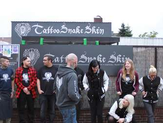 Fotos: Coole Motive bei der zweiten Blind Tattoo Session in Rodgau