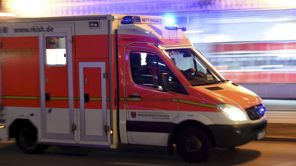 Sturz von Hafenkran: Kind in Frankfurt schwer verletzt
