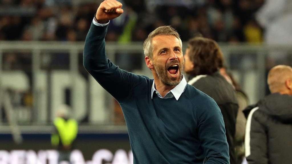 Salzburg-Coach Marco Rose bei Dortmund und Frankfurt im Gespräch