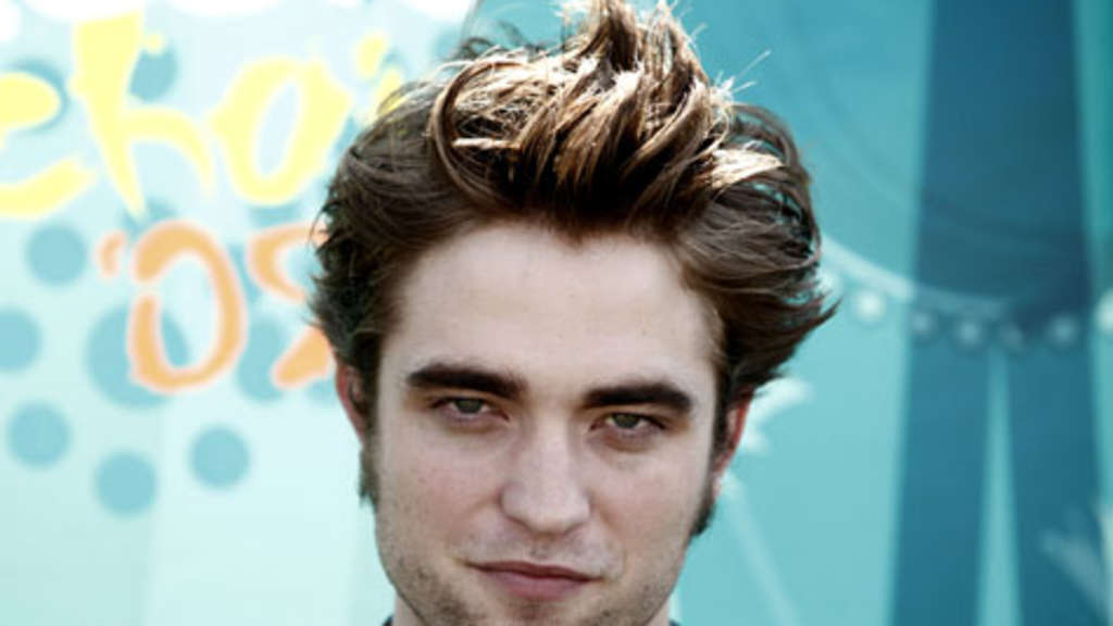 "Robert Pattinson, Star der Vampirromanze ""Twilight""."
