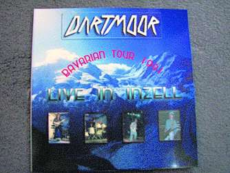 "CD-Cover des Albums ""Bavarian Tour 1991 - Live in Inzell"" von Dartmoor"