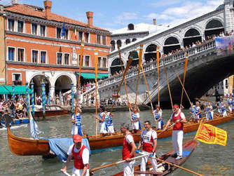 Vogalonga in Venedig