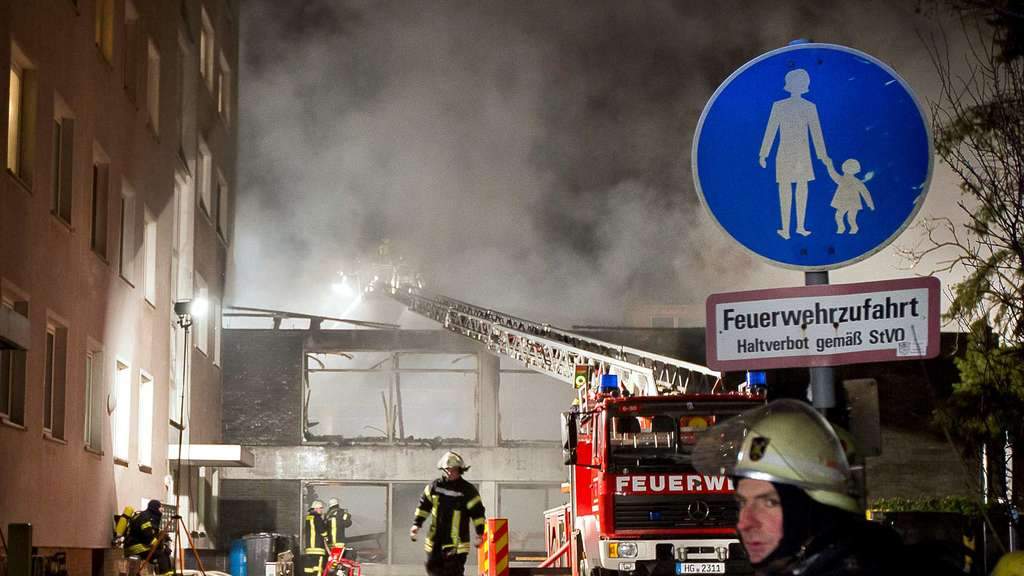 Brand bei Faschingsparty in Steinbach