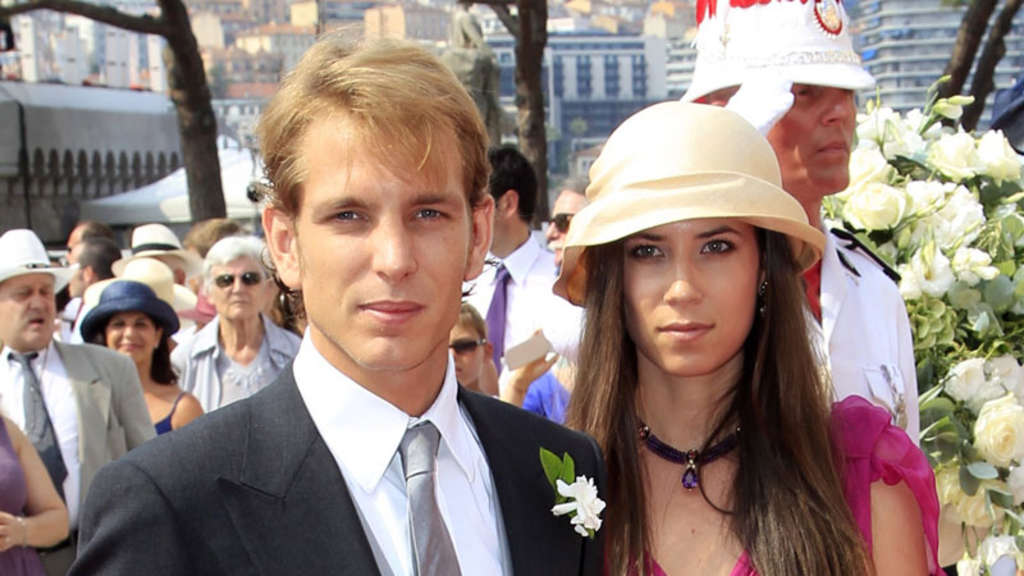 Andrea Casiraghi Tatiana Santo Domingo
