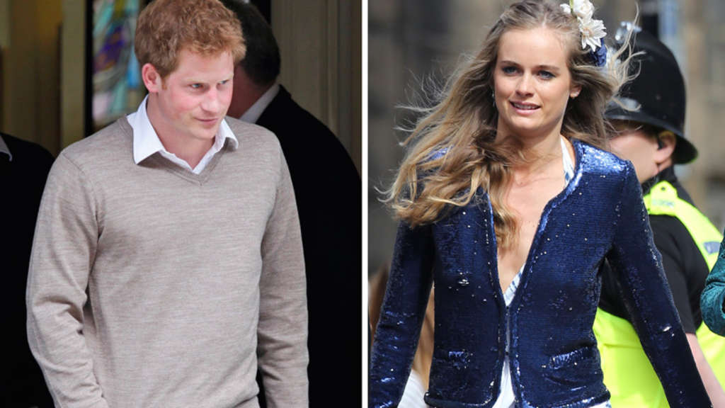 Prinz Harry, Cressida Bonas, England, UK