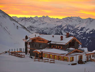 Hotels in den Alpen