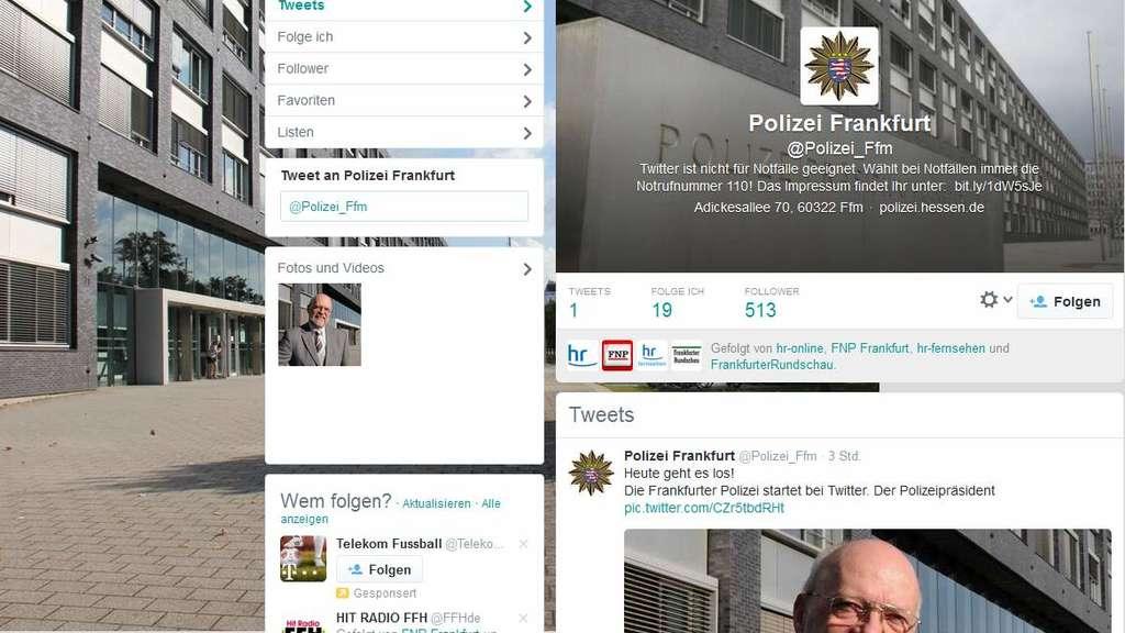 Polizei Hessen Twitter