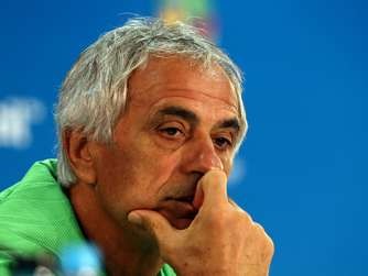 WM 2014: Algeriens Nationaltrainer Vahid Halilhodzic
