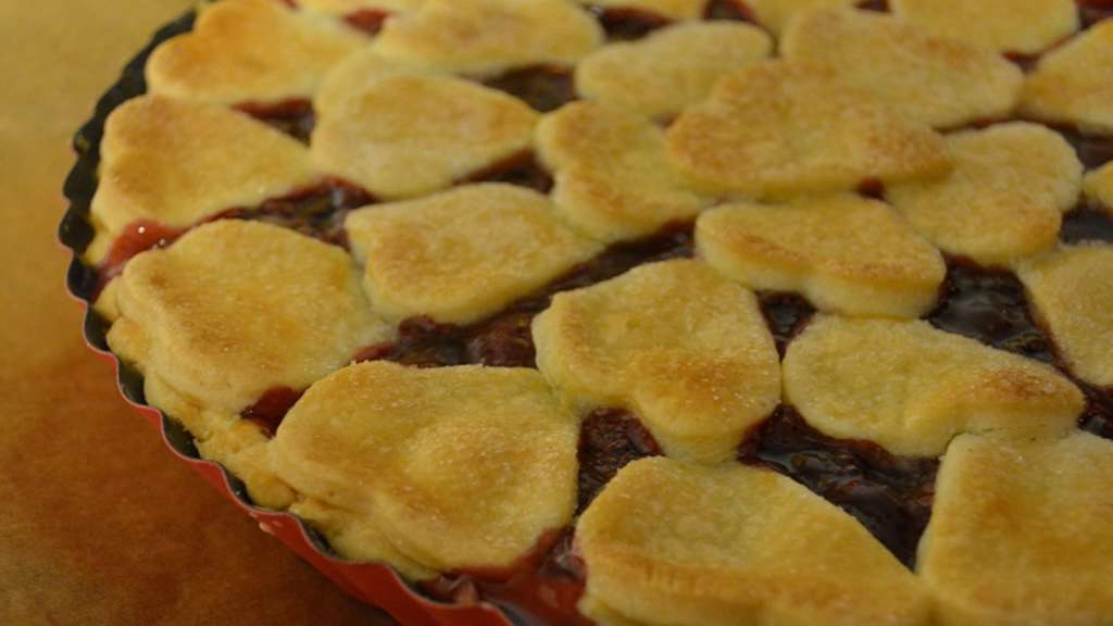 Der Kuchenbacker Rezept Fur Amerikanischen Kirsch Kuchen Hessen