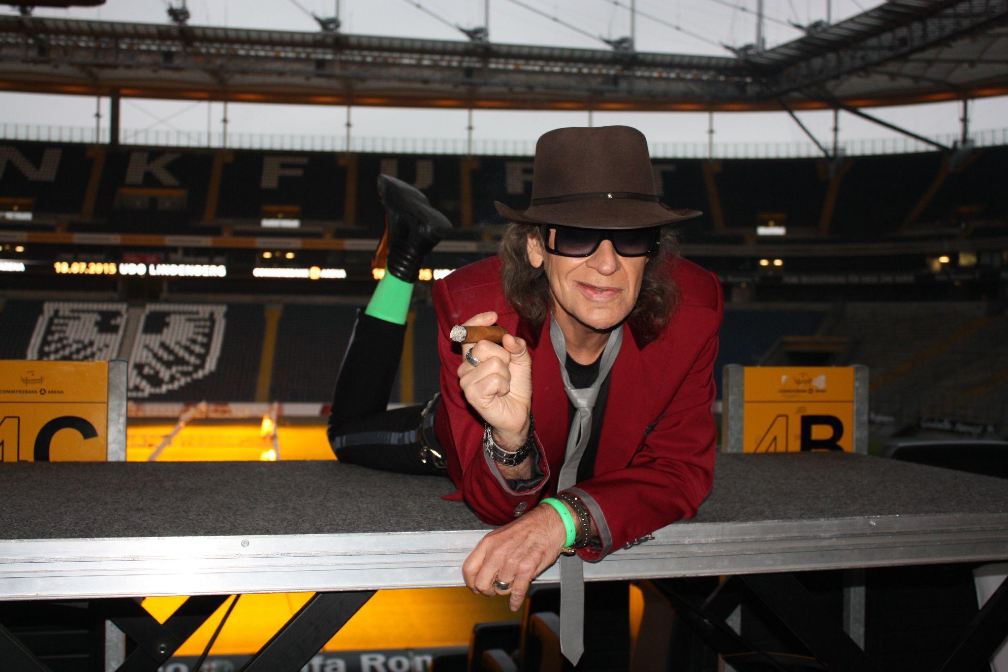Auch In Frankfurt Udo Lindenberg Will Mit Tour 2015 Neue Maßstäbe