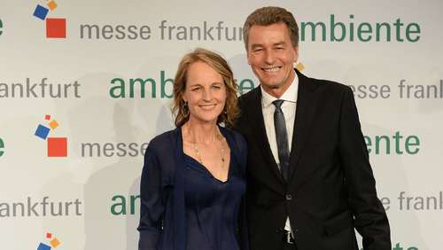 Hollywood-Star Helen Hunt besucht Frankfurter Ambiente Messe