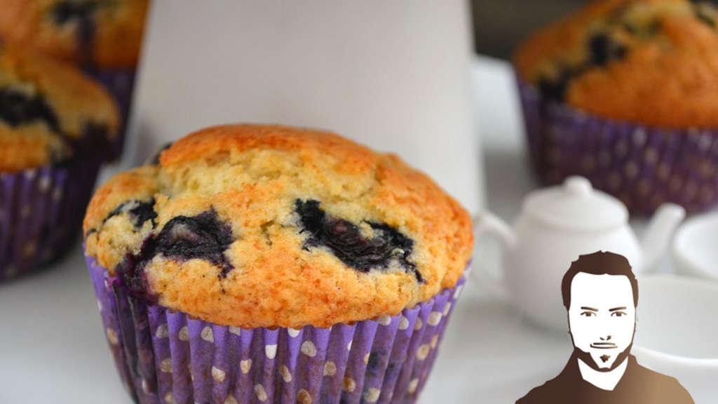 Heidelbeer muffin rezept buttermilch