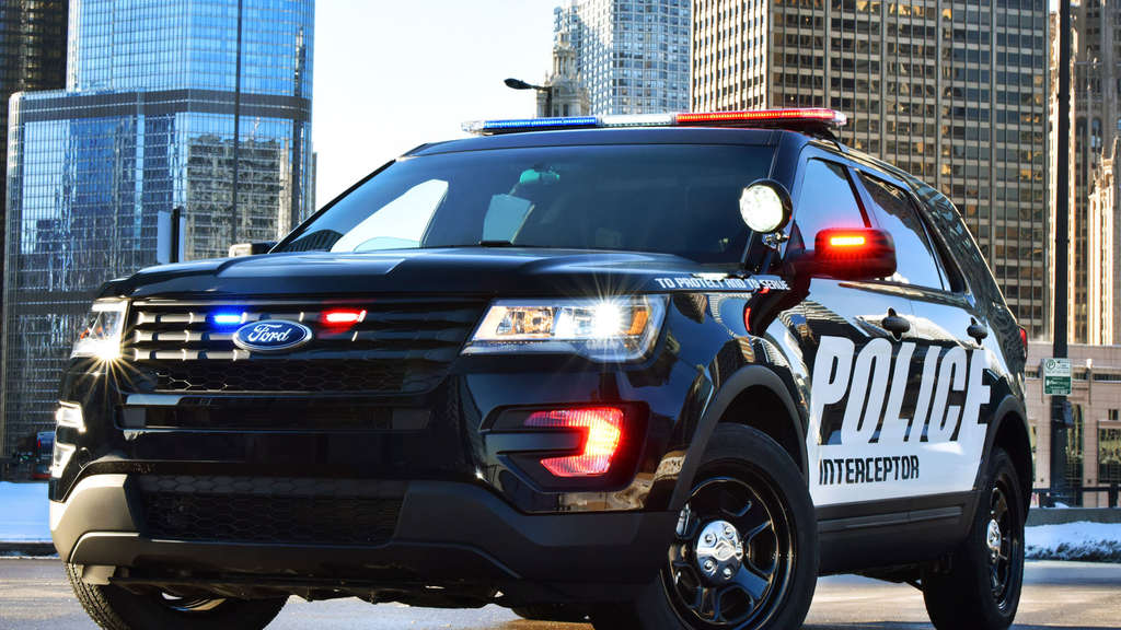 Ford Police Interceptor Utility 2016.