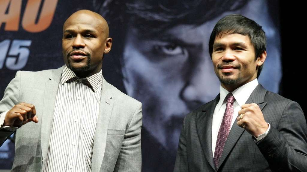 Floyd Mayweather und Manny Pacquiao