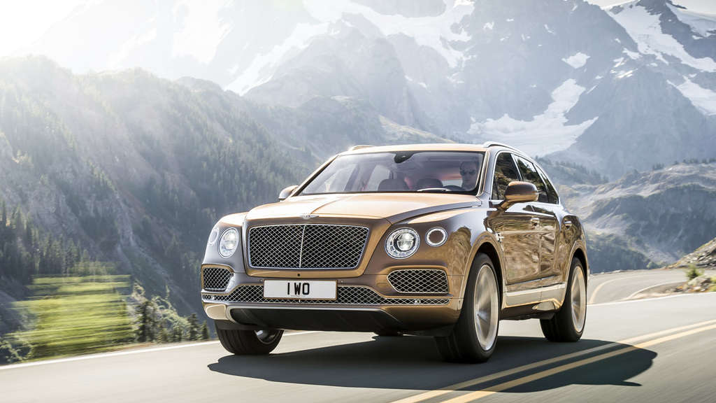 First Class SUV: Bentley Bentayga