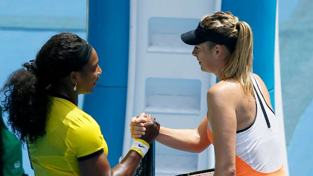 Williams, Scharapowa, Australian Open