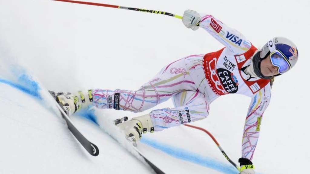 Lindsey Vonn in Aktion.