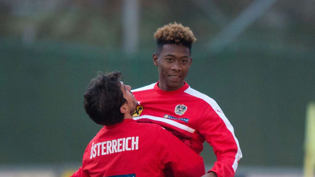 Mega-Hype in Österreich um David Alaba & Co.