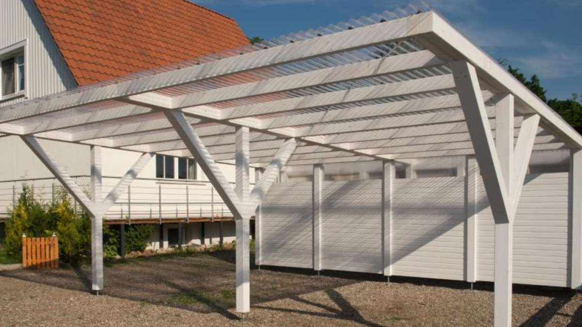 schneller gebaut als die garage baus tze f rs carport wohnen. Black Bedroom Furniture Sets. Home Design Ideas