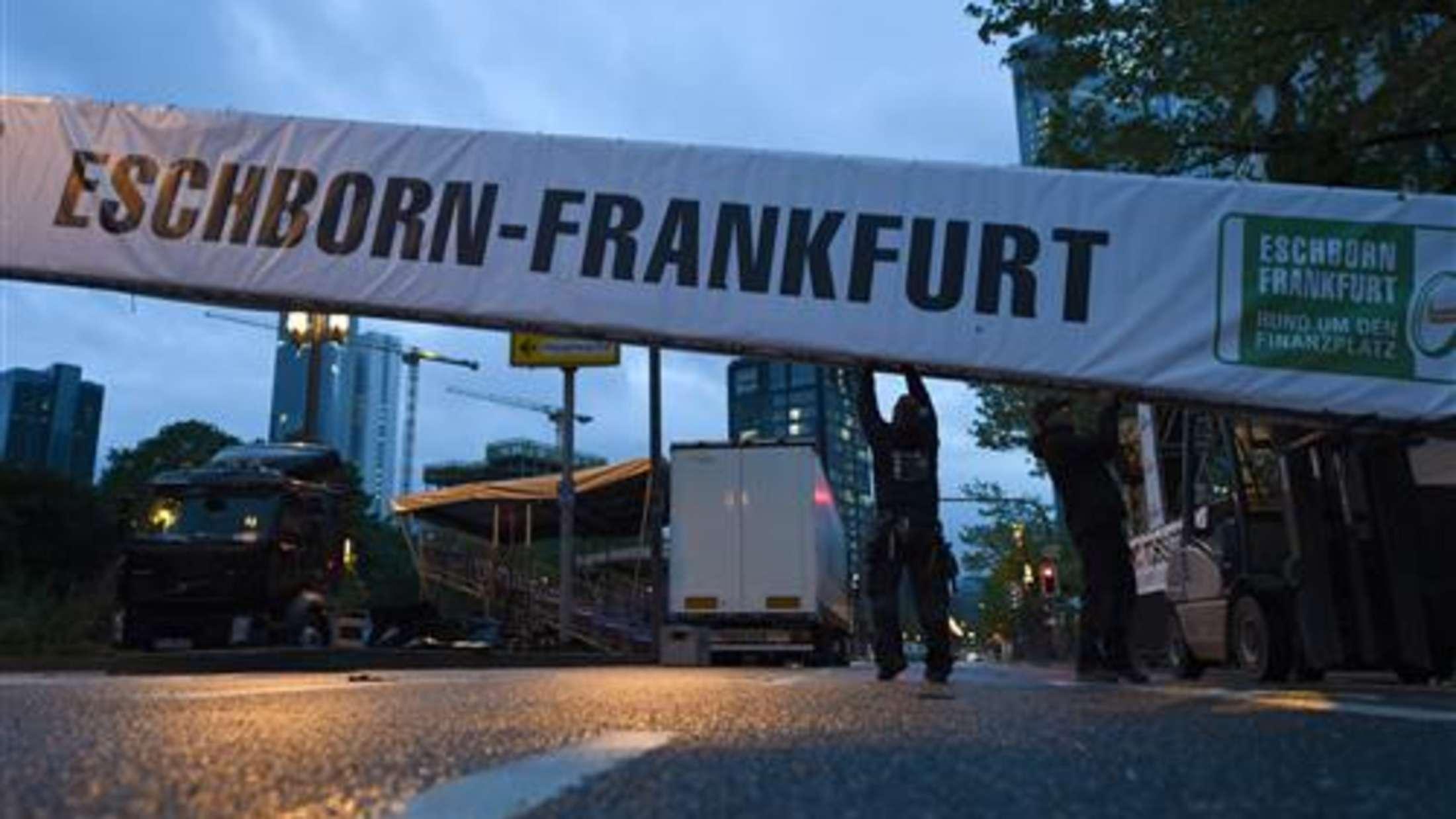 Radrennen Rund Um Den Finanzplatz Eschborn-Frankfurt