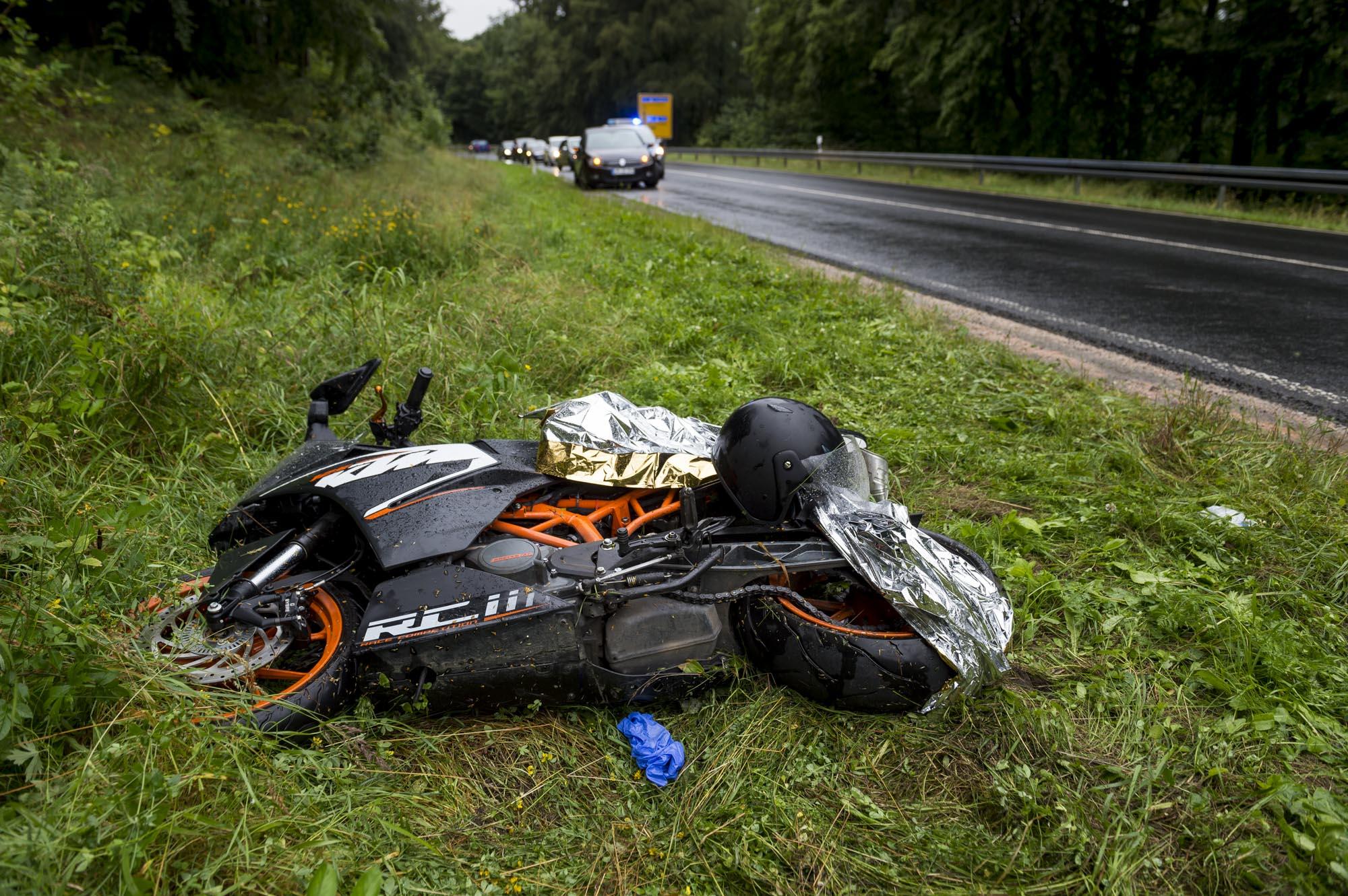 Unfall Motorrad