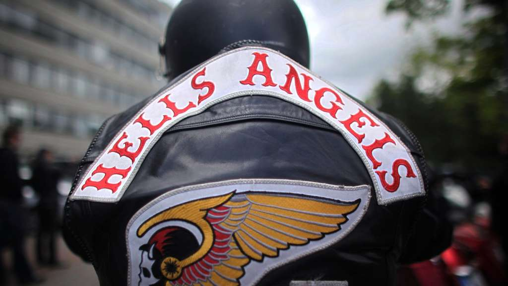 Rockergruppe - Hells Angels