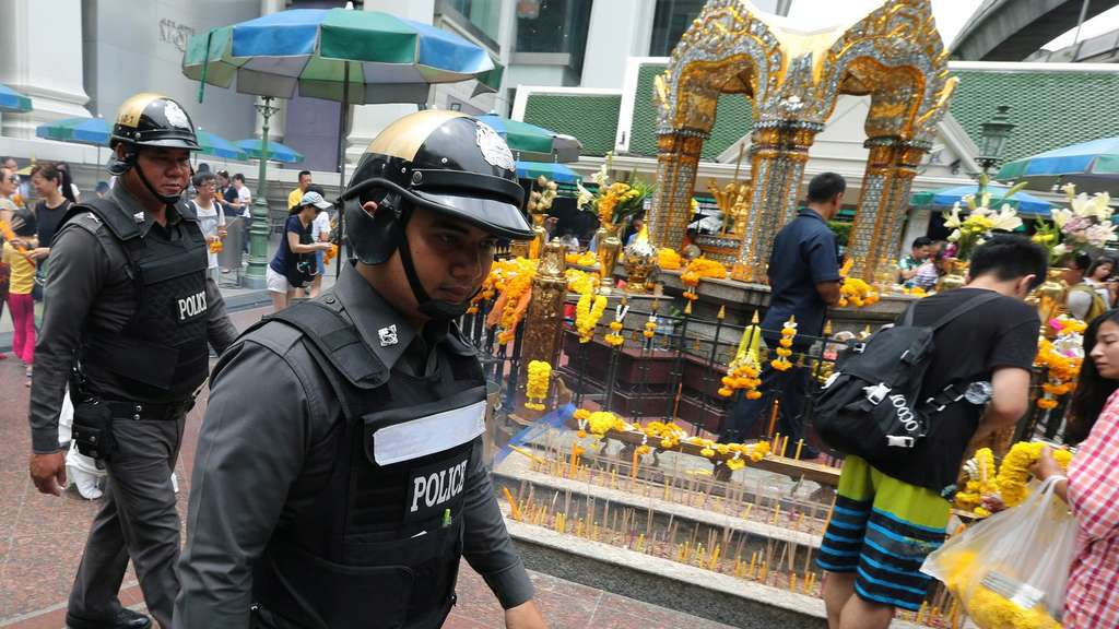 Thai authorities increase security measures in tourist areas