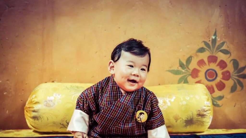 Der kleine Drachenprinz Jigme N. Wangchuck aus Bhutan. Foto: Royal Office Of Media For Bhutan