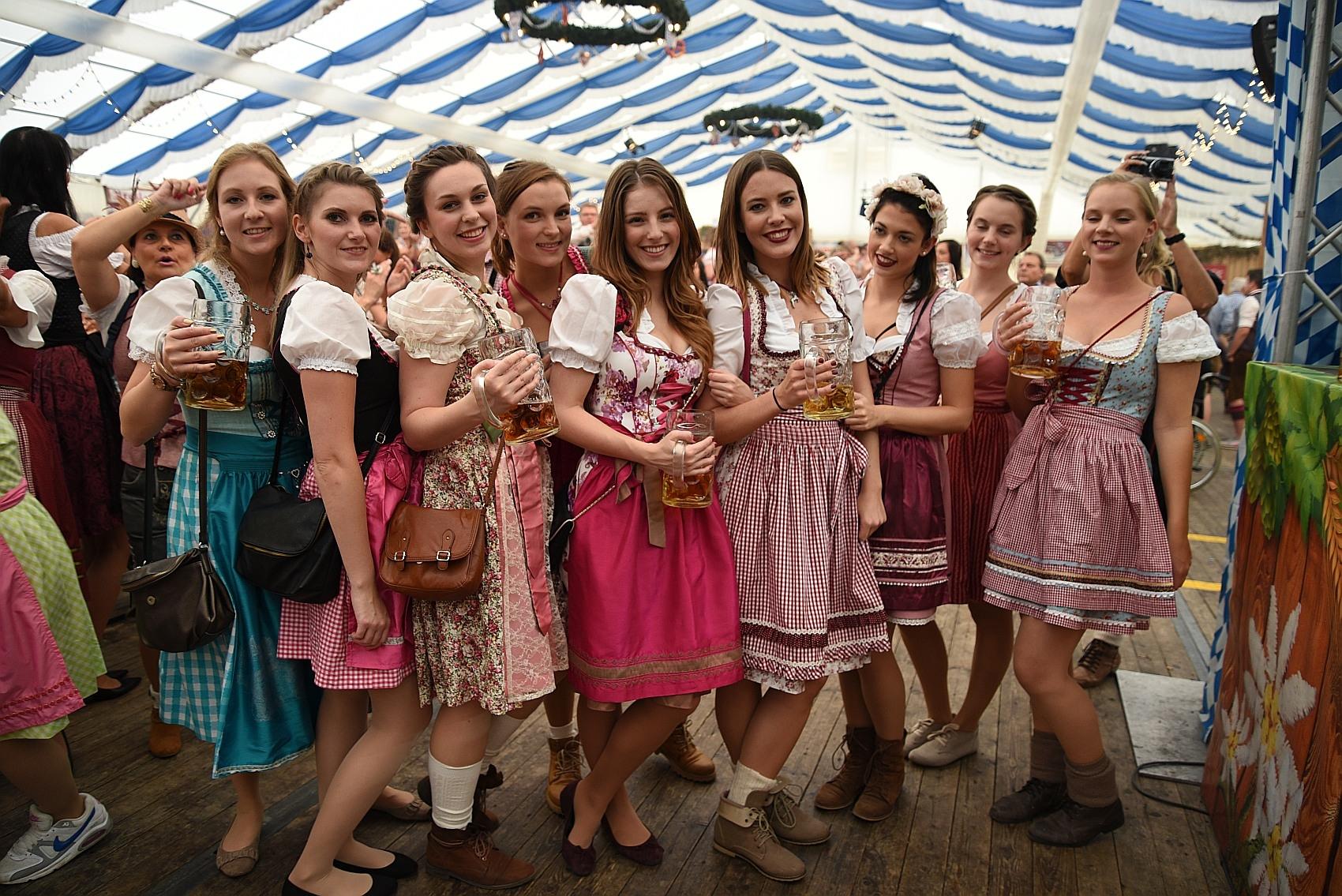 Oktoberfest In Frankfurt