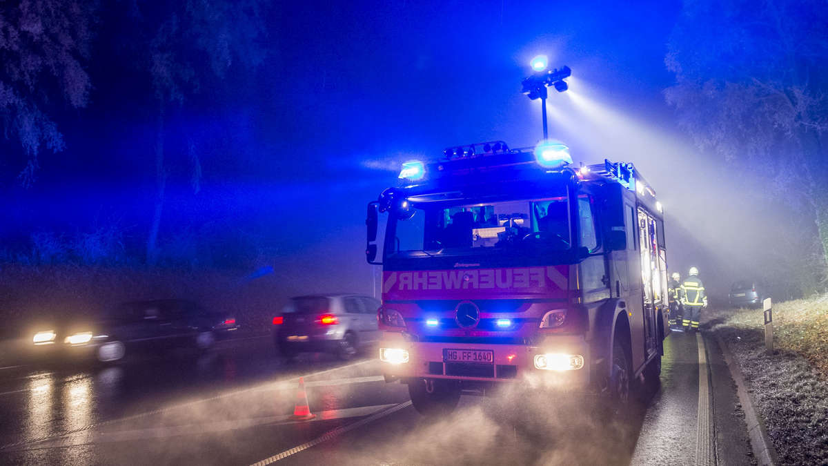 unfall in bad homburg
