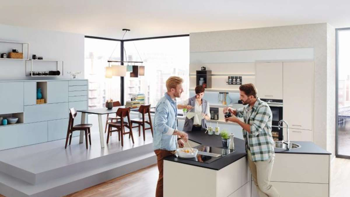 das aus f r die klassische k che wohnen. Black Bedroom Furniture Sets. Home Design Ideas
