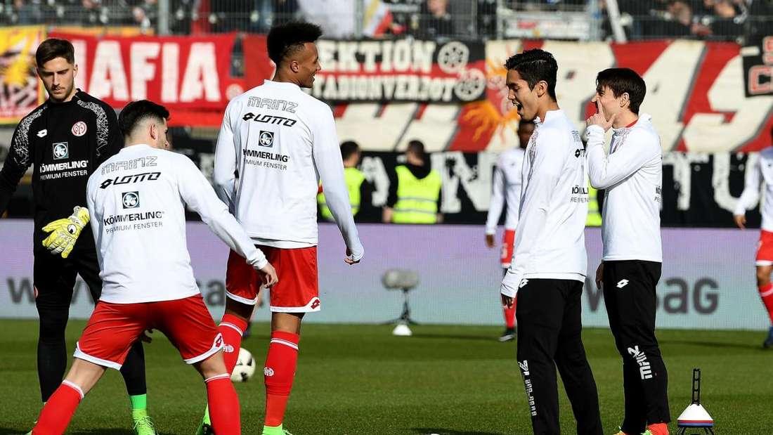Bilder vom Spiel im Sondertrikot gegen Mainz.
