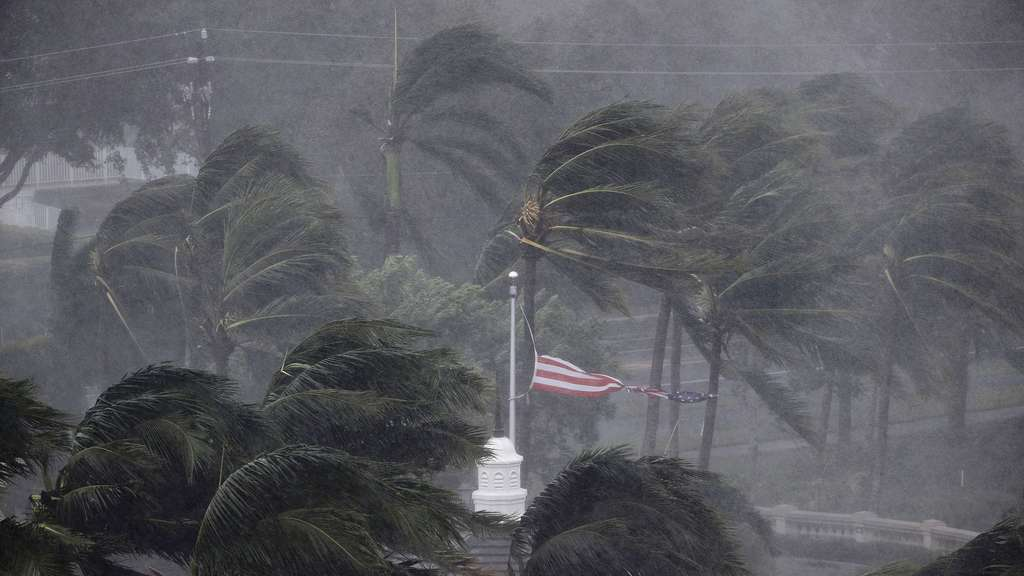 "Bilder: So wütet Hurrikan ""Irma"" in Florida"