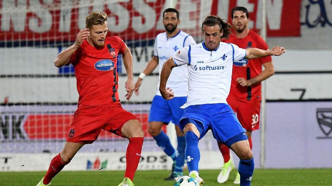 Nachdem er in Heidenheim für neuen Schwung gesorgt hat, könnte Yannik Stark (rechts) gegen Dresden diesmal von Beginn an auflaufen.