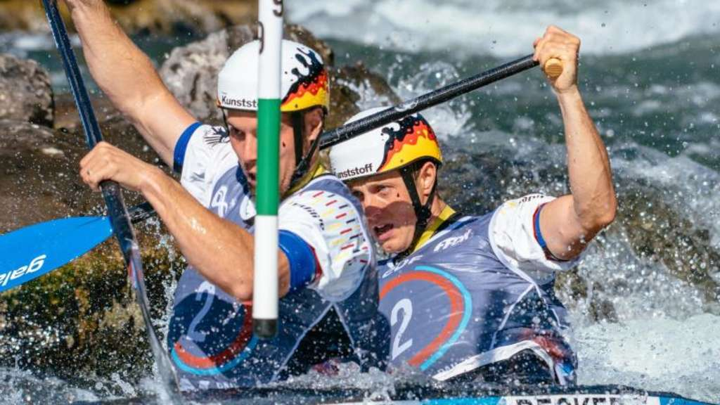 Canadier-Duo Behling/Becker holt WM-Bronze