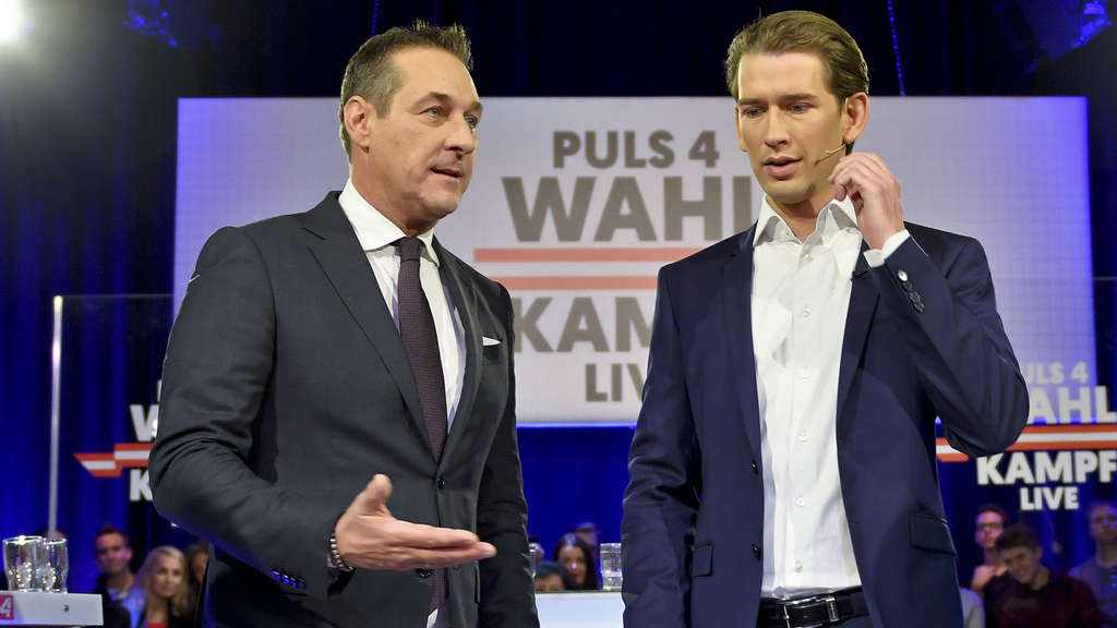 Bald Koalitionspartner? FPÖ-Chef Heinz-Christian Strache und ÖVP-Parteiobmann Christian Kurz.