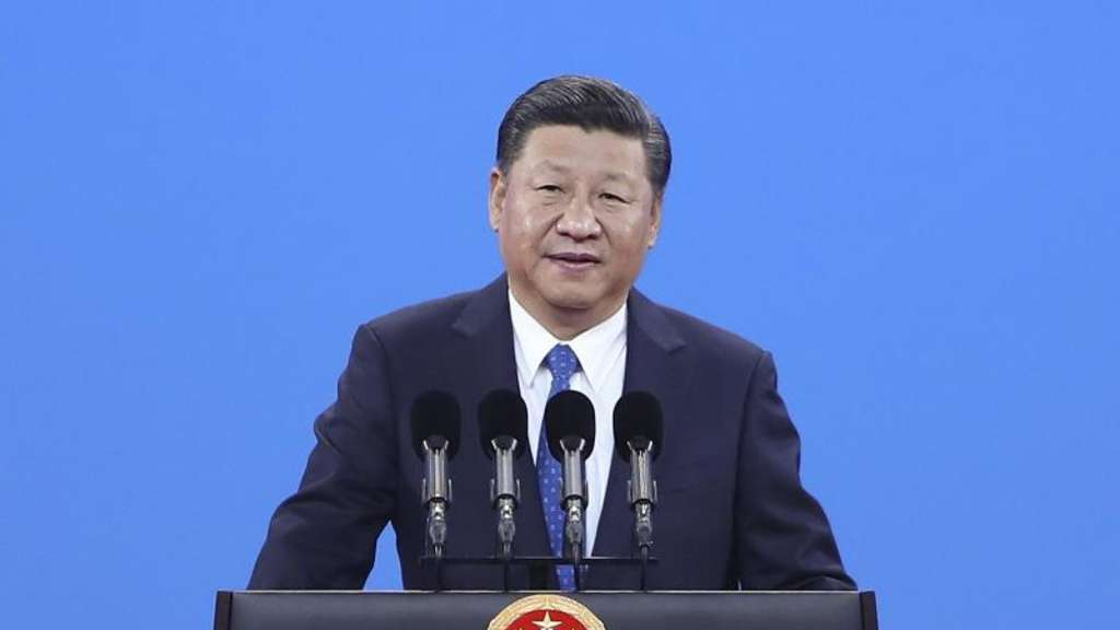 Chinas Präsident Xi Jinping Ende September bei einer Rede in Peking. Foto: intao Zhang/Getty Images
