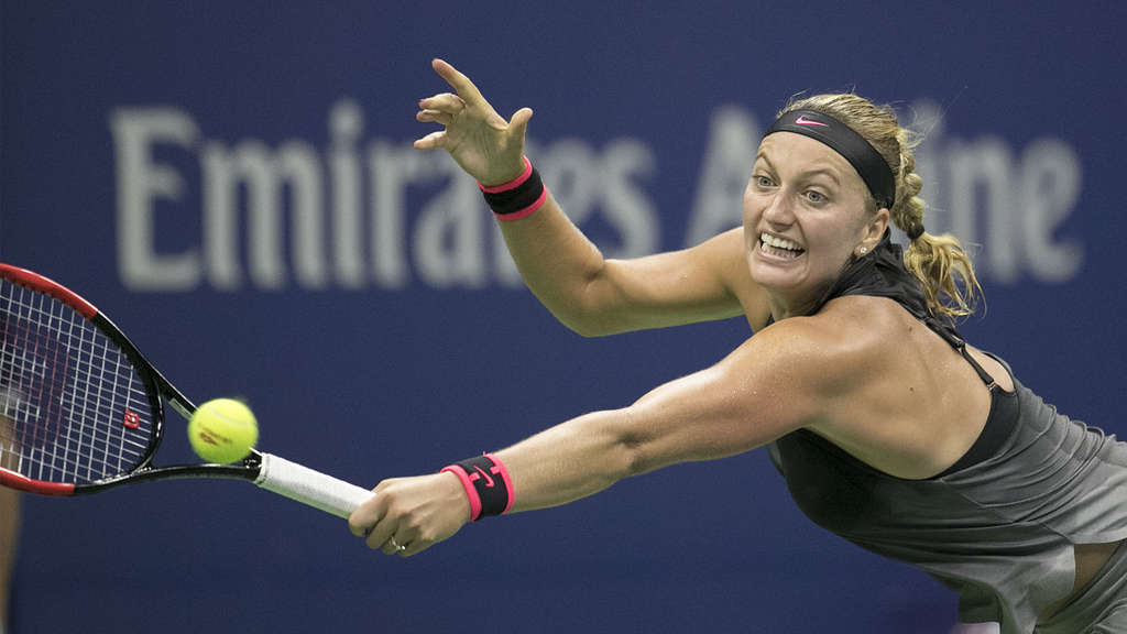 Tennisspielerin Petra Kvitova am 03.09.2017 in New York