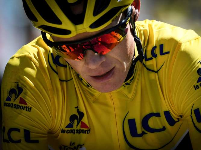 Positiver Dopingtest bei Tour-de-France-Sieger Froome