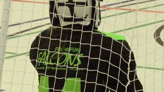 Video: Floorball-Training der Frankfurt Falcons