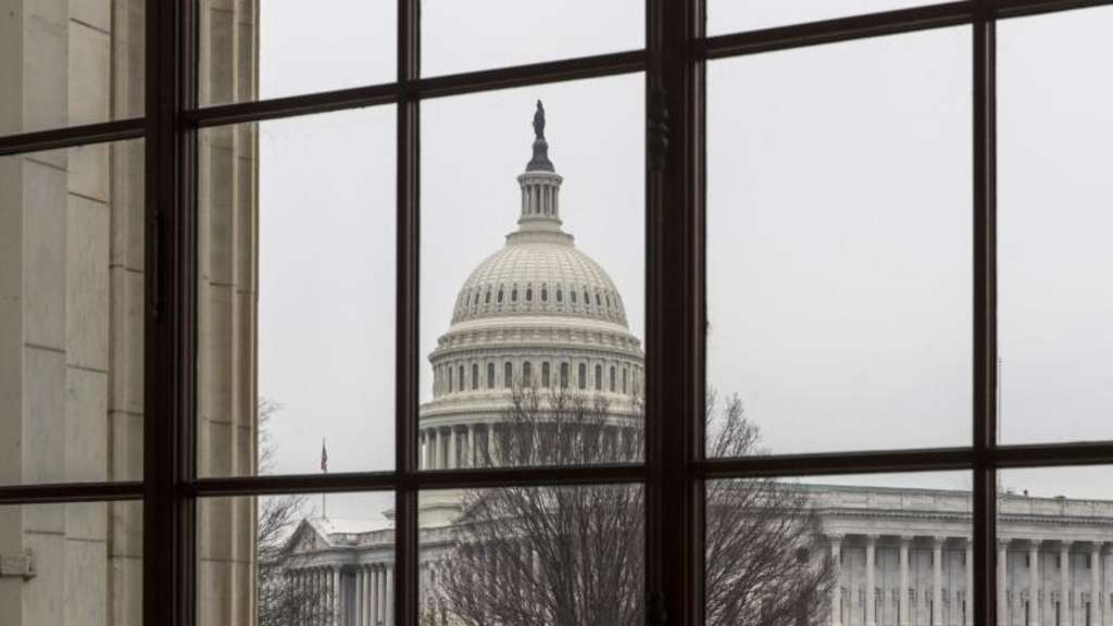Blick auf das Kapitol in Washington. Foto: J. Scott Applewhite/AP