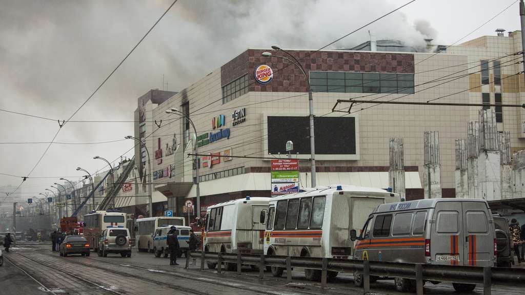 Brand in Russland